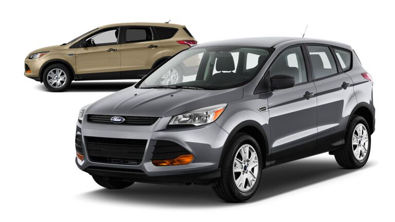 2015 Ford Escape vs 2014 Honda CR-V