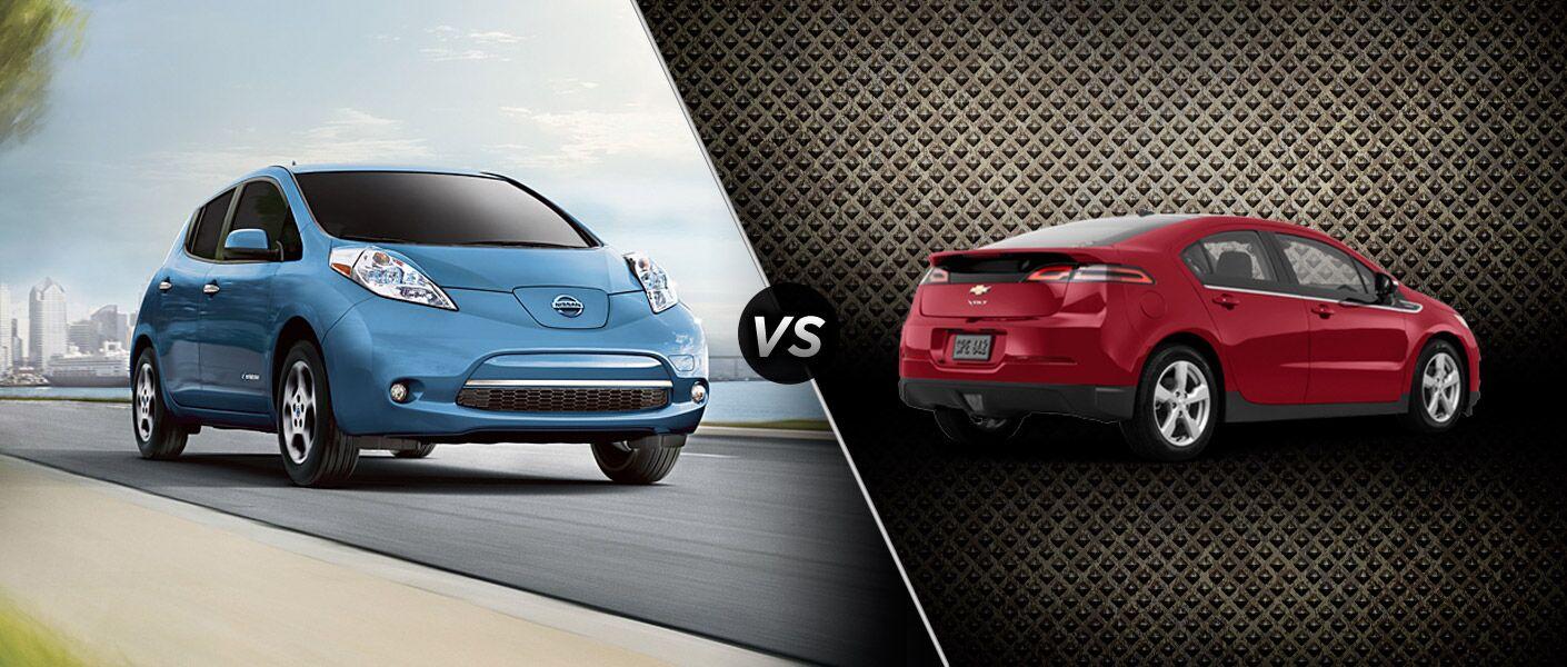 2014 Nissan LEAF vs 2014 Chevy Volt