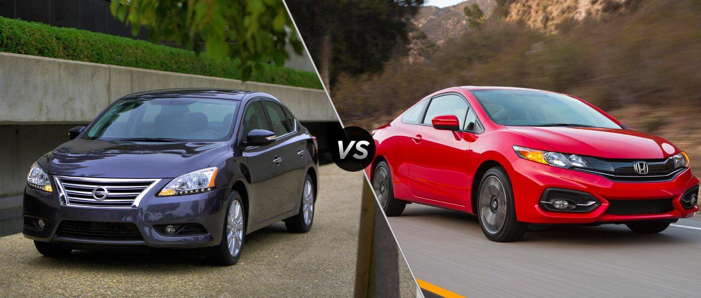 Nissan Sentra Lease Deals 2015 Nissan Sentra vs 2015 Honda Civic
