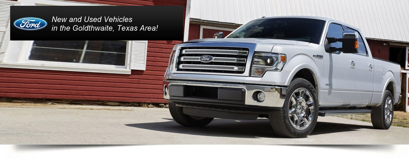 New Ford at Hill Country Ford in Goldthwaite