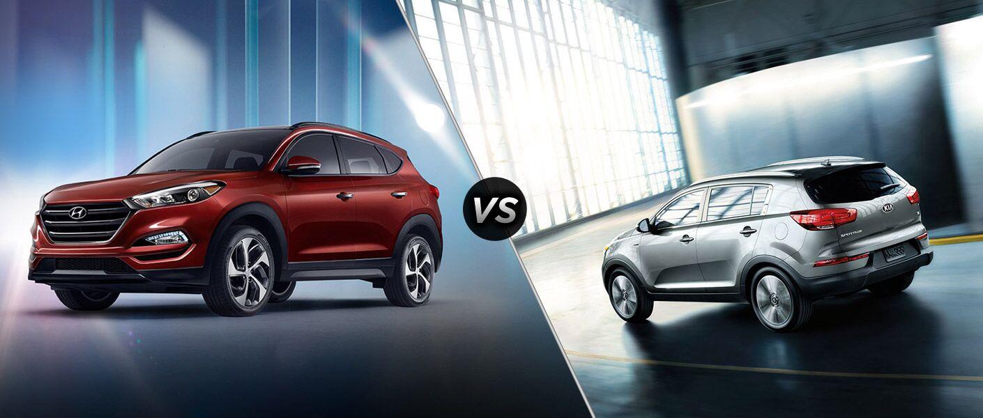 2016 Hyundai Tucson vs 2016 Kia Sportage