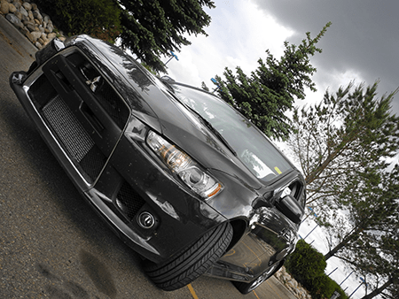 2014 Lancer Evo Front West Side Mitsubishi