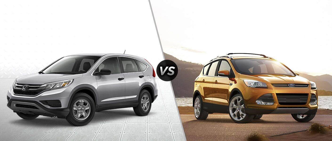 2016 honda cr v vs 2016 ford escape