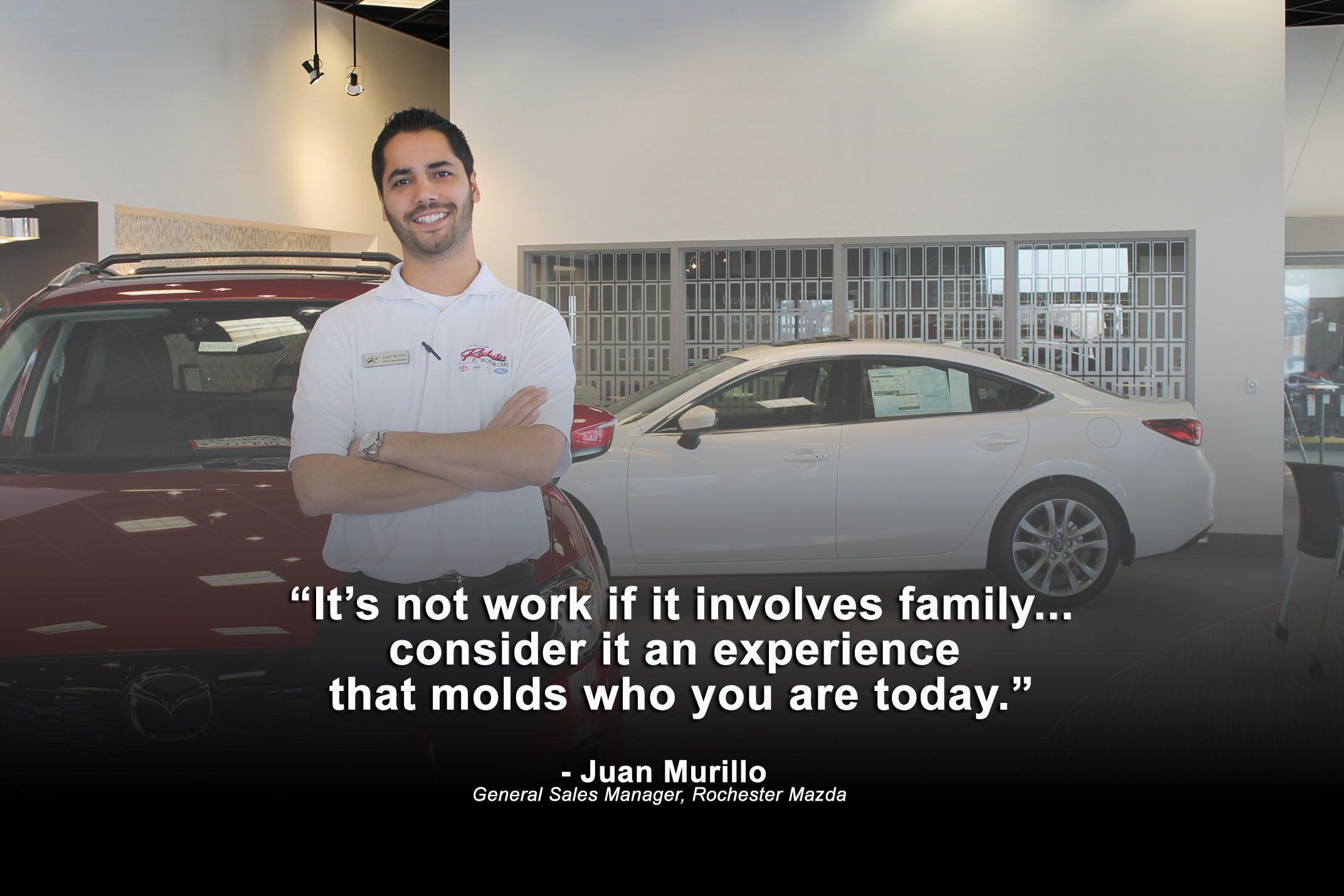 Juan Murillo Rochester Mazda in Rochester MN