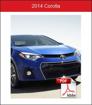 2014 Toyota Corolla Rochester MN