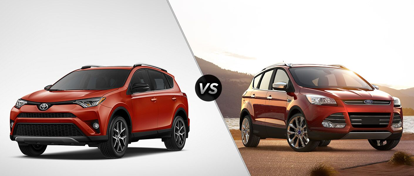 We have decided to do a comparison review test between the 2016 Toyota Rav4 vs 2016 Ford Escape, read on to learn more!