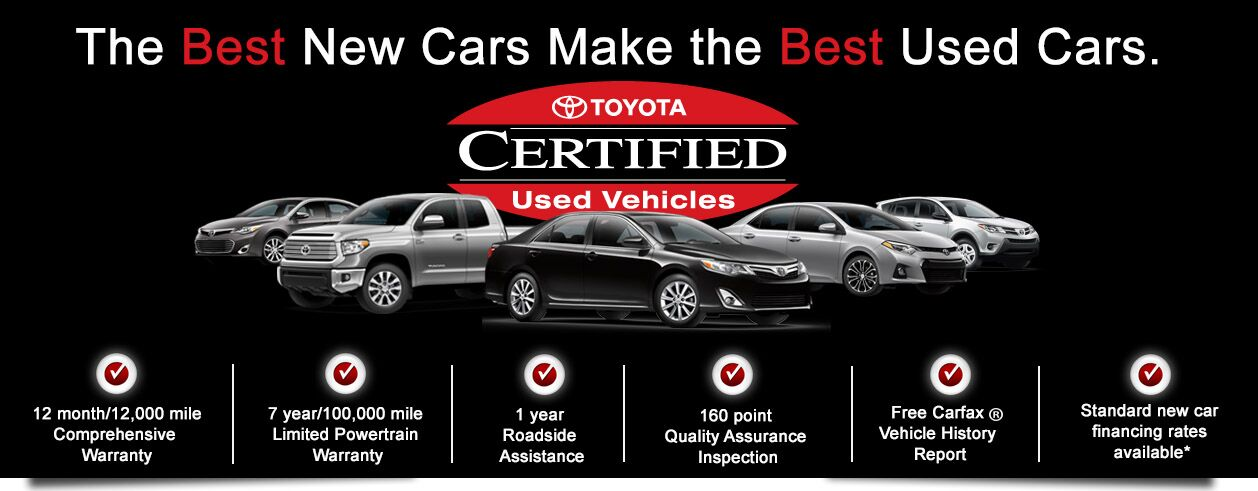 Toyota Certified Used Cars Rochester MN