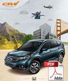 2013 CR-V Brochure PDF