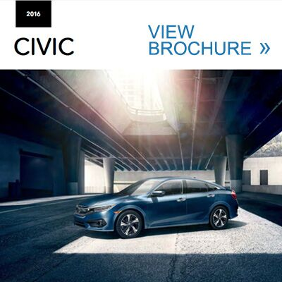 View the 2016 Civic Brochure