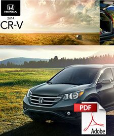 2014 Honda CR-V brochure