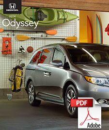 2014 Honda Odyssey Brochure