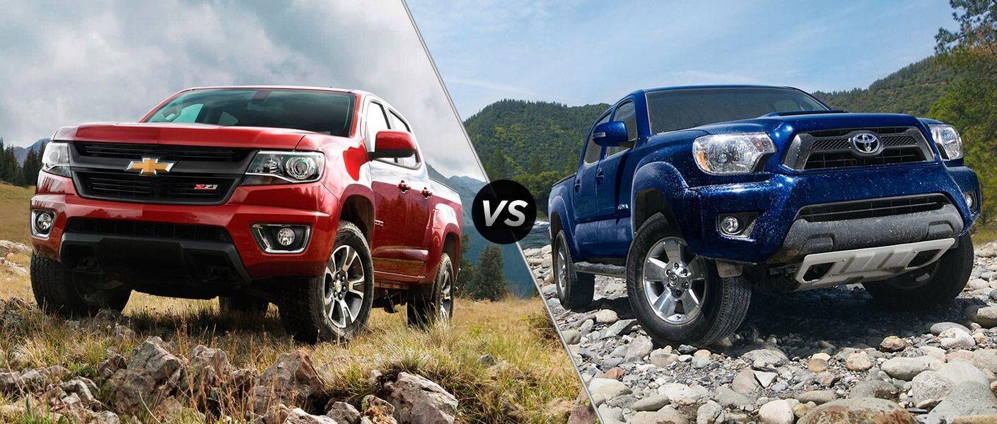 Toyota Houston Tx 2015 Chevy Colorado Vs 2015 Toyota Tacoma Houston Tx