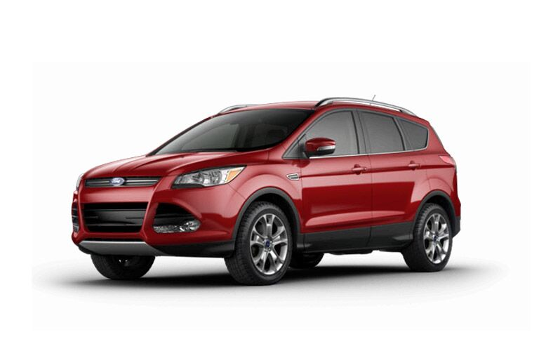2014 Ford Escape Red 200 Interior And Exterior Images