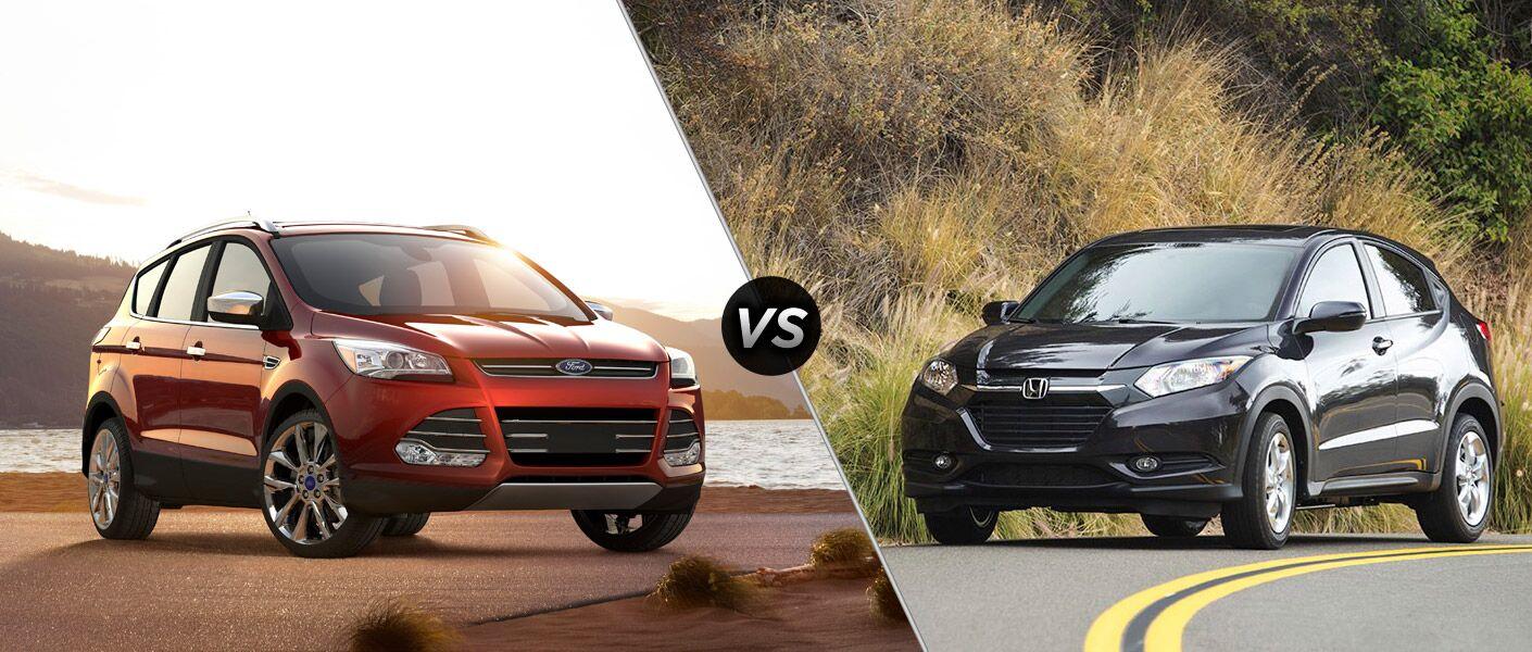 2016 Ford Escape vs 2016 Honda HR-V