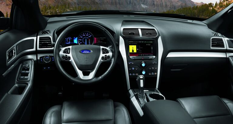 2014 Ford Explorer Interior Images Galleries With A Bite