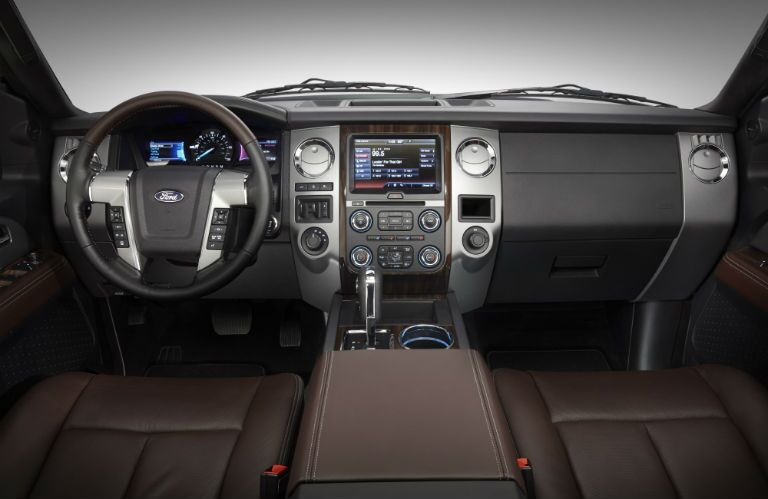 2015 Ford Expedition Interior Dash Steering Wheel