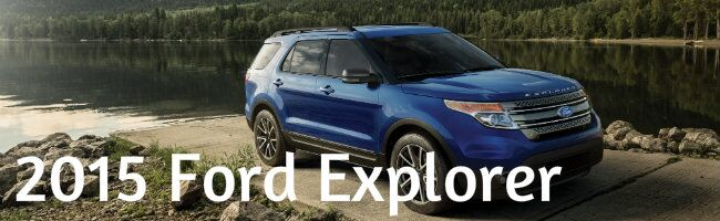 2015 Ford Explorer information specifications