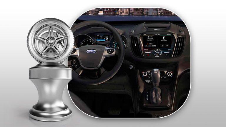 new Ford Escape Interior dash technology