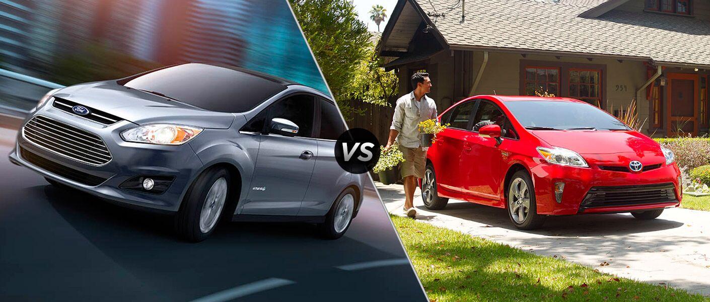 2015 Ford C-Max Hybrid vs 2015 Toyota Prius