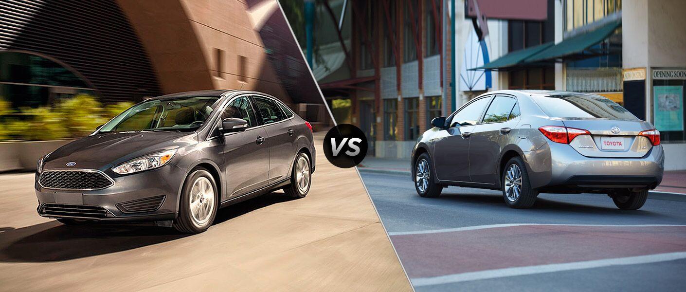 2015 Ford Focus vs. 2015 Toyota Corolla