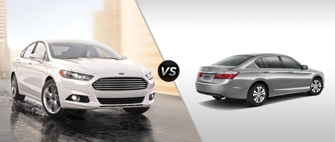 2015 Ford Fusion vs 2015 Honda Accord