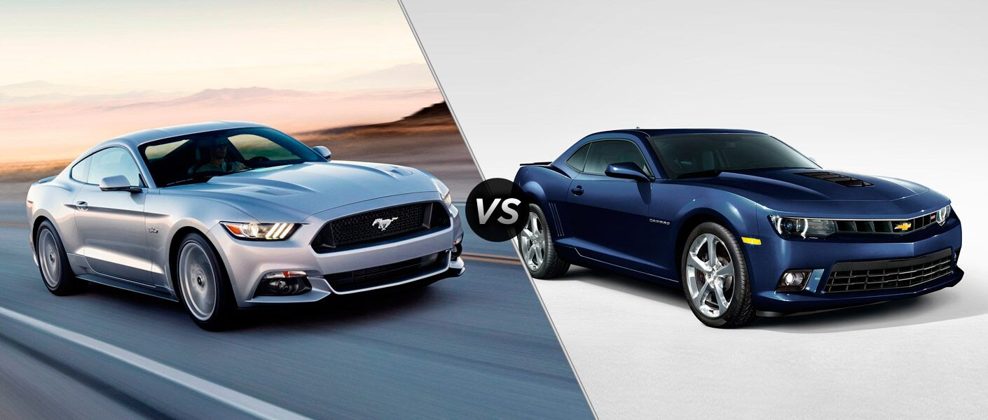 2015 Ford Mustang vs. 2015 Chevy Camaro