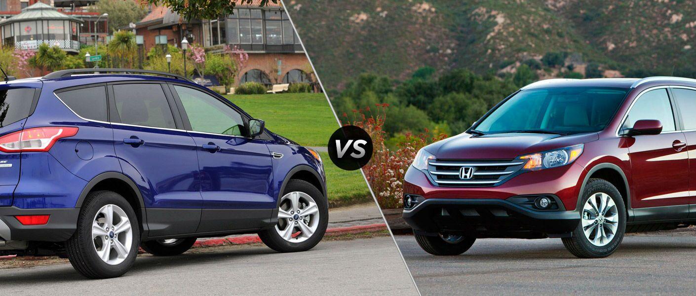 2015 Ford Escape vs 2015 Honda CR-V