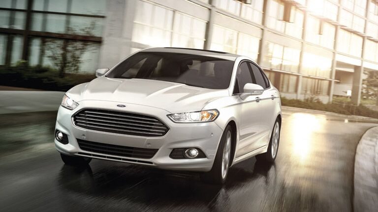 exterior of 2016 Ford Fusion