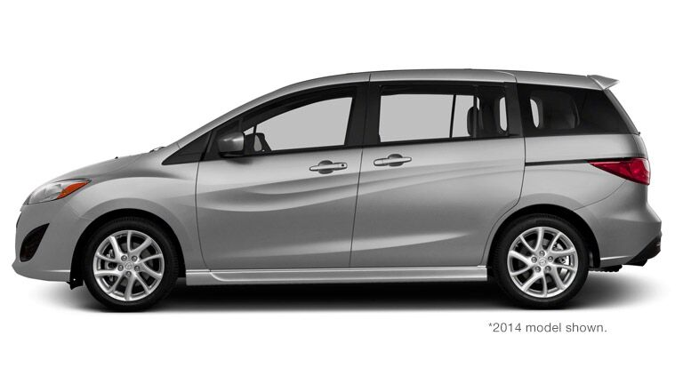 2015 Mazda 5 silver