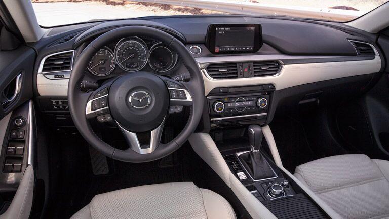 2016 Mazda6 features