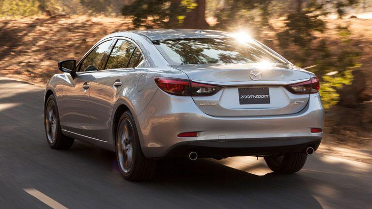 2016 Mazda 6 luggage space
