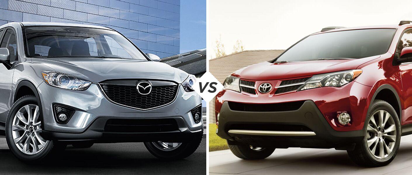 Mazda CX-5 vs Toyota Rav4