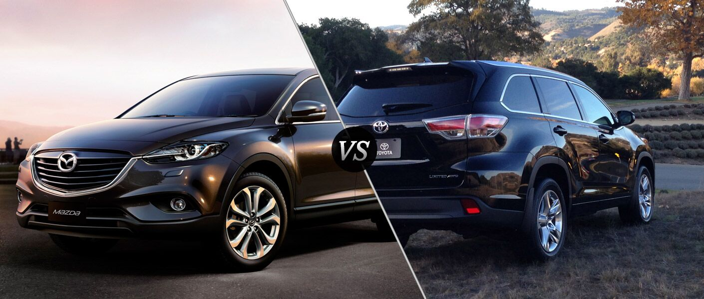 2014 Mazda CX-9 vs 2014 Toyota Highlander