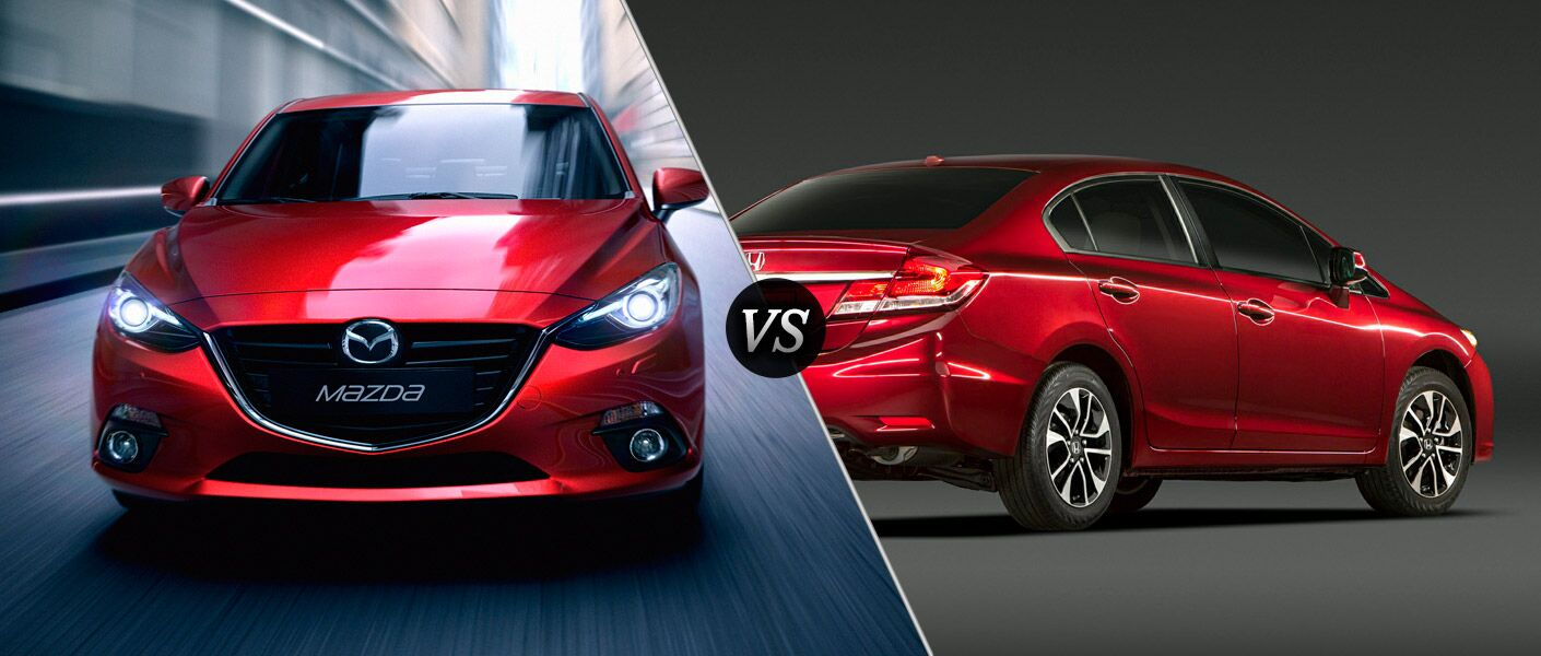 Mazda 3 vs Honda Civic