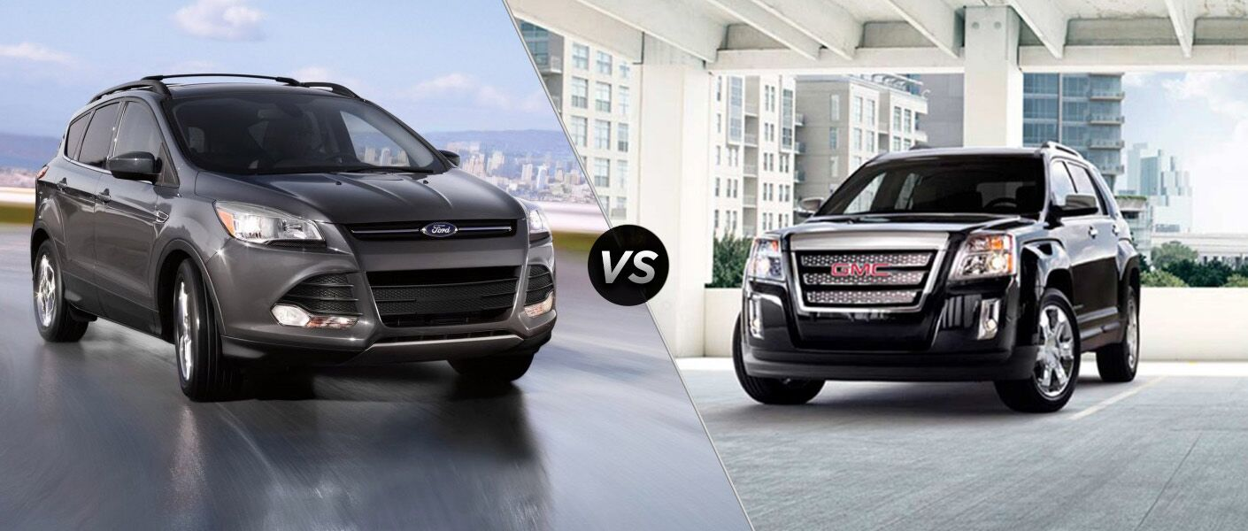 2015 ford escape vs 2015 gmc terrain appleton wi. Black Bedroom Furniture Sets. Home Design Ideas