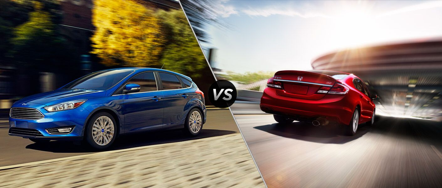 2015 ford focus vs 2015 honda civic appleton wi for Ford fusion vs honda civic