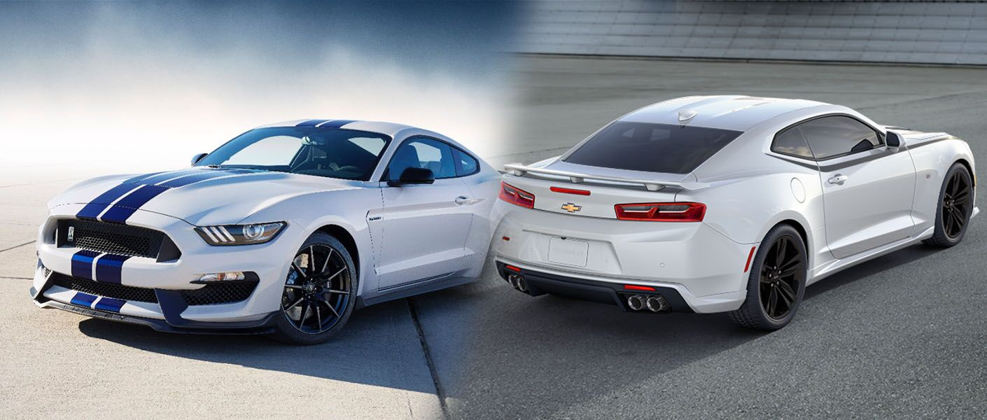 All Types mustang gt350 2016 : 2016 Ford Mustang Shelby GT350 vs 2016 Chevy Camaro SS
