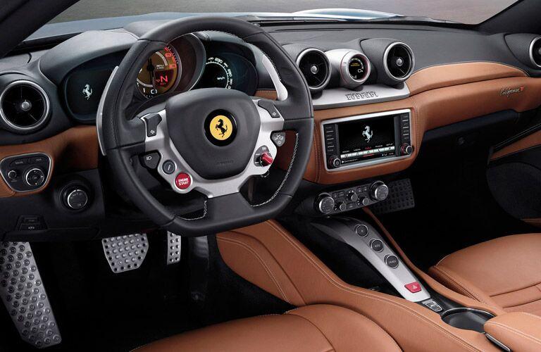 2015 Ferrari California T Interior