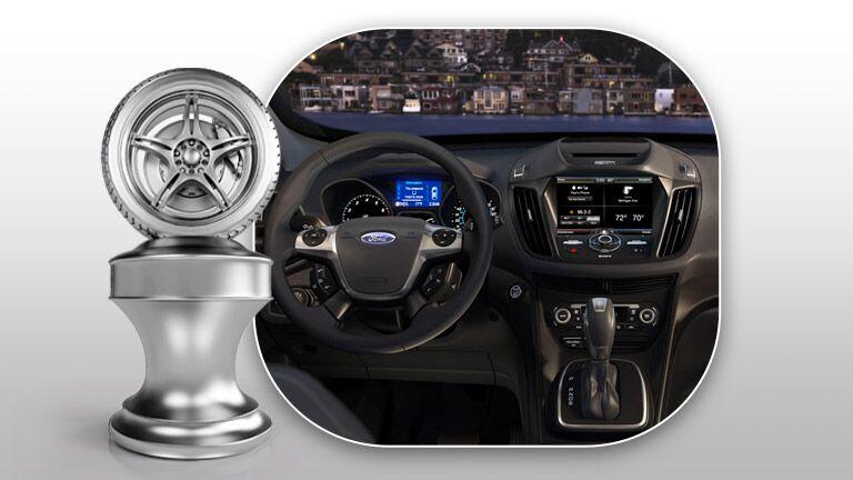 2015 Ford Escape vs. 2014 Honda CR-V interior comparison
