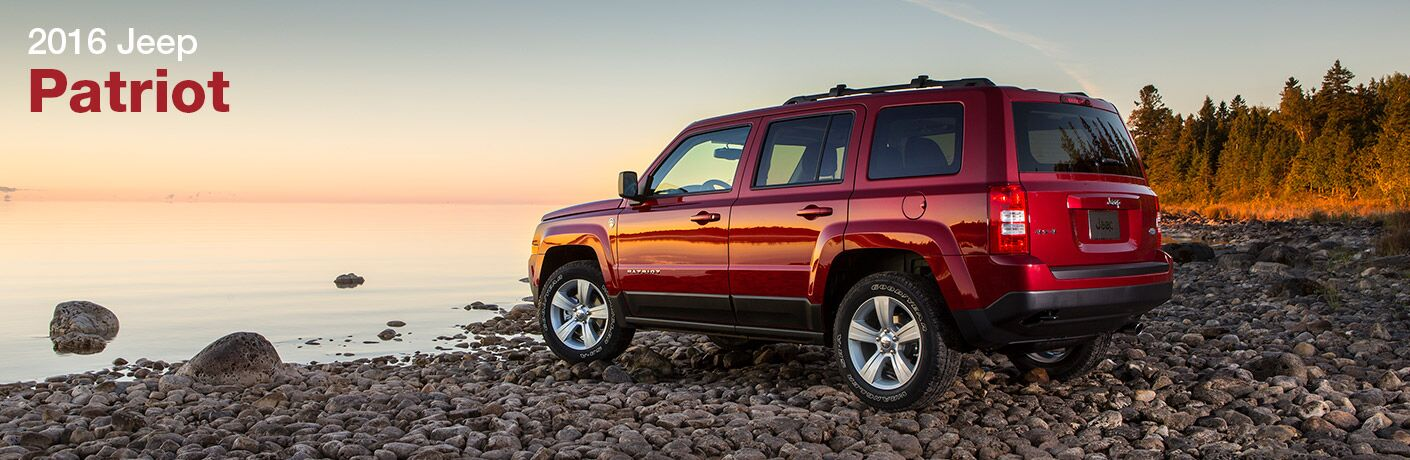 If you want efficiency, try the 2016 Jeep Patriot in Albert Lea MN.