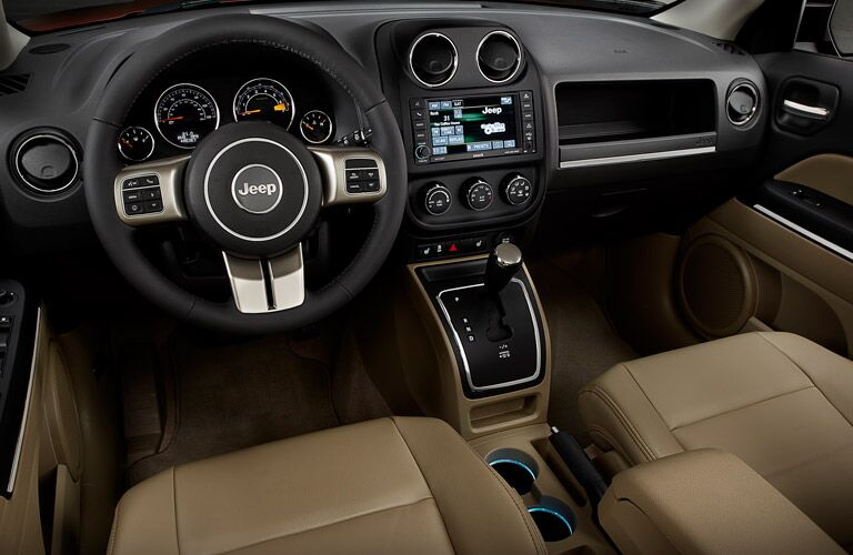 The interior of the 2016 Jeep Patriot in Albert Lea MN is spacious.