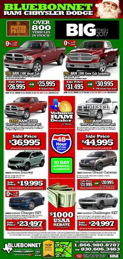 Bluebonnet Dodge New Specials
