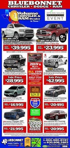 Bluebonnet Dodge New Specials
