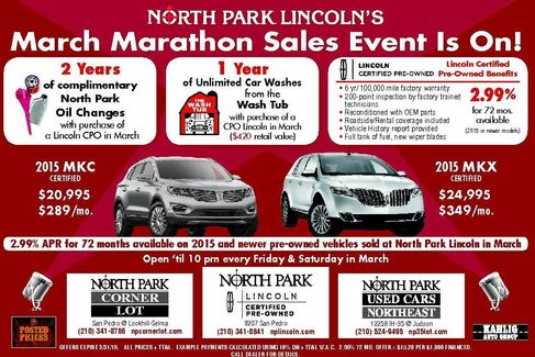 North Park  I-35 Northeast Specials