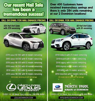 North Park Hail Sale!!!