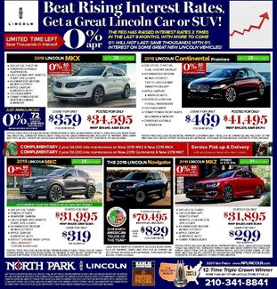 Lexus IS Source · Weekly Ads Used Car Specials Near New Braunfels TX North  Park Lincoln New Specials Source · North Park Toyota Of San Antonio ...
