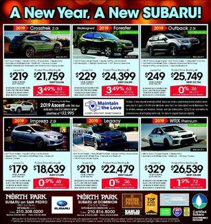 North Park Subaru San Antonio & Dominion - New Specials