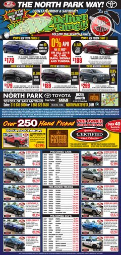 North Park Toyota - Pre-Owned Specials