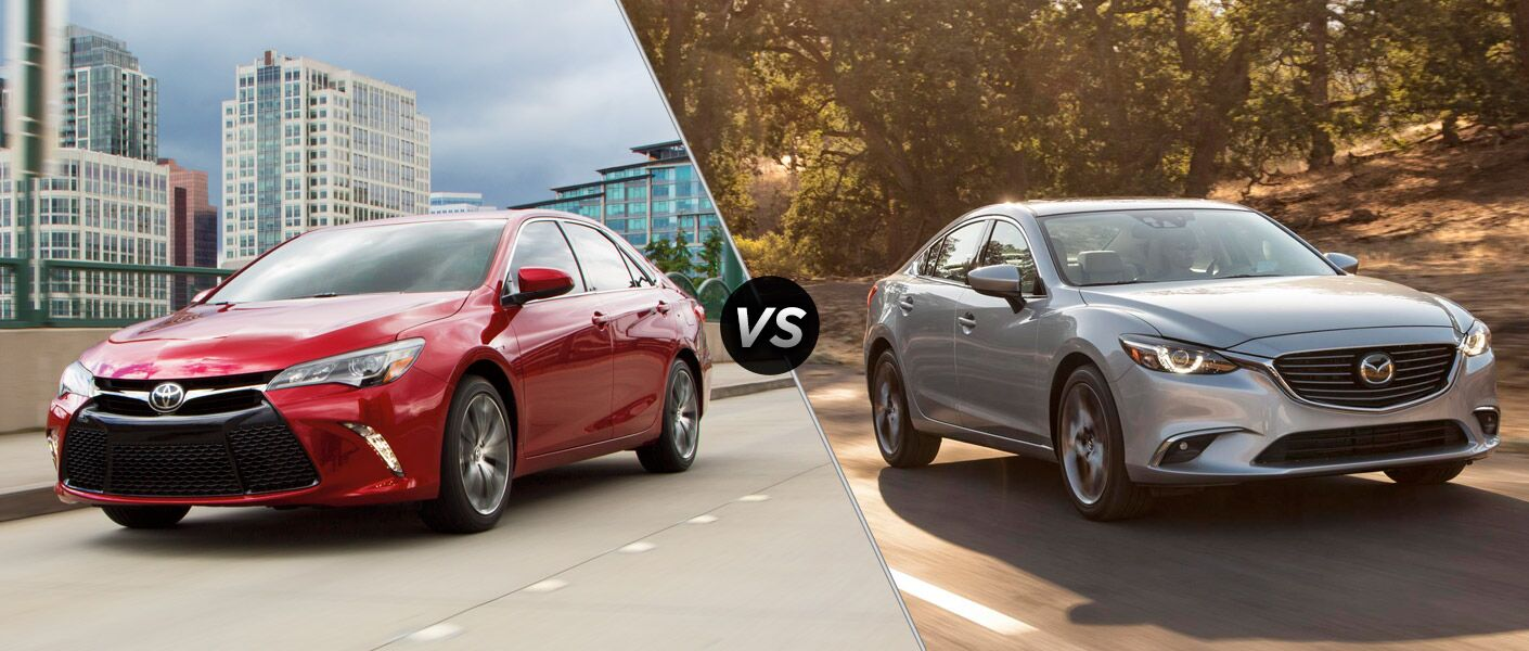 2016 Toyota Camry vs 2016 Mazda 6 at Gale Toyota