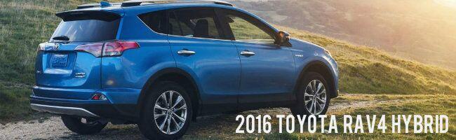 You May Also Like the 2016 Toyota RAV4 Hybrid